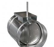 Воздушный клапан круглого сечения AGUJ, Ф100 мм