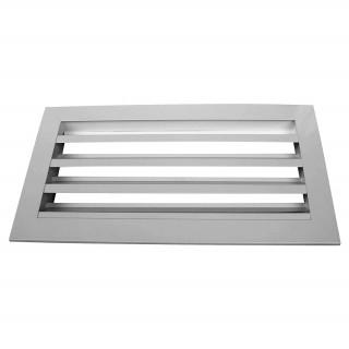 Настенная щелевая решетка алюминиевая НЩТ 100х100 мм