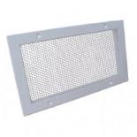 Перфорированная вентиляционная решетка алюминиевая ВРП 100x100 мм
