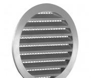 Наружная круглая решетка алюминиевая IGC Ф100 мм