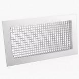 Сетчатая вентиляционная решетка алюминиевая РС 100х100 мм