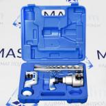 Инструмент для развальцовки VFT-808-is VALUE (вальцовка с эксцентриком и труборез)