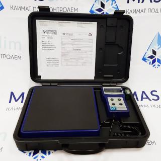 Весы электронные PRATIKA 100-05 WIGAM (до 100 кг) для заправки кондиционеров