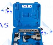 Инструмент для развальцовки VFT-809-is VALUE трещетка (вальцовка с эксцентриком и труборез)