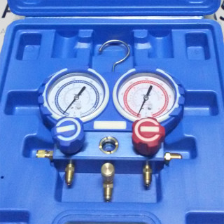 Манометрический коллектор VALUE VMG-2-R410A (R22, R134a, R410A, R407C)