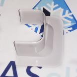 Ввод в стену прямой для кабель-канала 74х55