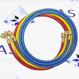 Зарядные шланги 3CSA/4-4/60/BRY WIGAM (3 штуки в комплекта, по 1,5 м)
