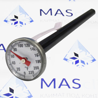 "Термометр аналоговый 1"" Mastercool (52220-С)"