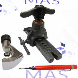 Набор вальцовок с эксцентриком, труборез, риммер Mastercool (70060)