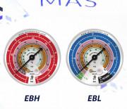 Манометр EBH 80 мм Mastercool (57800)