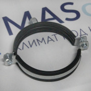 Хомут для воздуховода с резиновым профилем М8 200мм