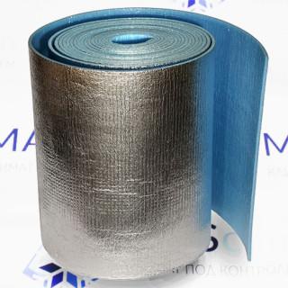 Теплоизоляция рулонная Магнофлекс С-1,2 толщина 5 мм, самоклеющаяся (36 кв.м.)