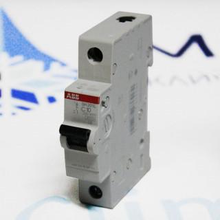 Автомат 1 полюсный ABB SH201L C10A