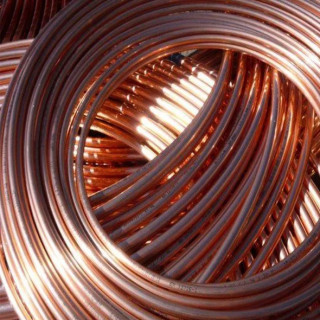 """Труба медная Cupori 7/8"""" (22.23х0.80) ASTM B68, 15 метров. Финляндия."""