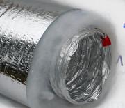 Воздуховод гибкий теплоизолированный ф102 для вентиляции (10м)