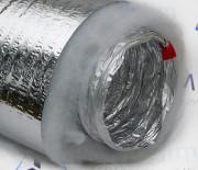 Воздуховод гибкий теплоизолированный ф127 для вентиляции (10м)