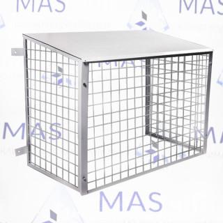 Защитное ограждение для кондиционера размер 1000х800х500 разборное