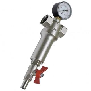 """Промывной фильтр механической очистки воды с манометром В-В  1"""" ALTSTREAM"""