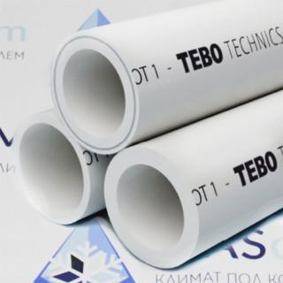 Полипропиленовая труба 75 SDR6 TEBO (4 м)