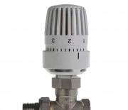 """Термоклапан прямой с термостатической головкой 1/2"""" ALTSTREAM"""