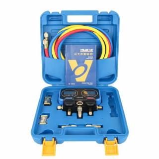 Коллектор манометрический электронный с шаровым вентилем VALUE NAVTEK VRM2-0101I (R410A, R22, R134A, R407C)