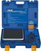 Электронные весы для хладагента программируемые с клапаном VALUE VES100B