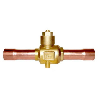 Шаровой вентиль с клапаном шредера GBC-BV 10S 1 3/8