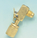 "Клапан - 90гр. 1/4"" SAE 17C WIGAM"